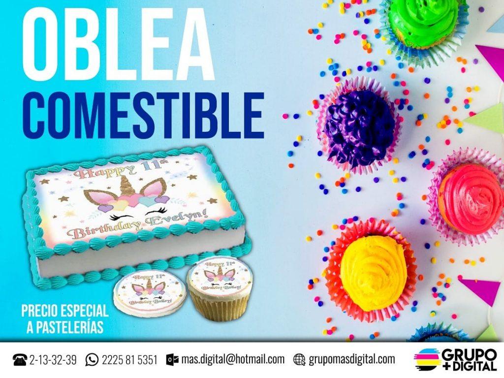 #oblea comestible #obleacomestible #impresion comestible